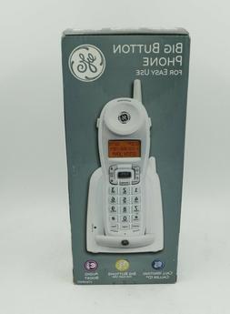 2 4 ghz cordless phone big button