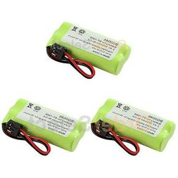 3 NEW Cordless Home Phone Rechargeable Battery for Uniden BT