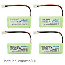 4 New Cordless Home Phone Battery 350mAh NiCd for AT&T Lucen