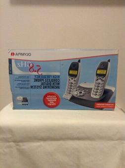 Olympia 5.8 GHz High Frequency Cordless Phones w/Caller ID -
