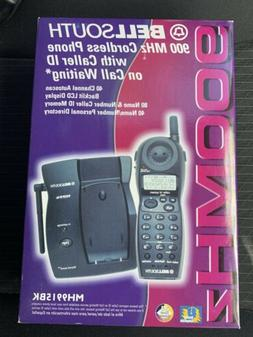 Bellsouth 900MHz Cordless Phone With Caller ID Waiting Model