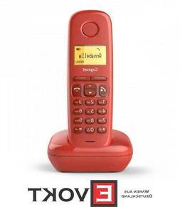 Gigaset A270 Red / Salmon Landline Telephone cordless Genuin