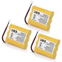 3 Pack Cordless Home Phone Battery for AT&T/Lucent 3300 3301