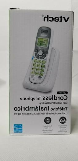 Vtech CS6114 DECT 6.0 Cordless Home Phone System White New E