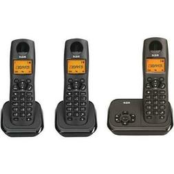 RCA DECT 6.0 Cordless Phone With 3 Handsets
