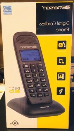 Emerson Digital Cordless Phone DECT 6.0 EM7000 1 Handset Tel