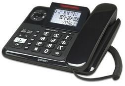 CLARITY-E814 40dB Expandable Corded/cordless Phone w/Digital