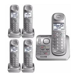 Panasonic Expandable Digital Cordless Phone  with 5 Handsets