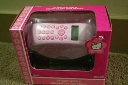HELLO KITTY PINK 2.4GHZ DIGITAL CORDLESS TELEPHONE BRAND NEW