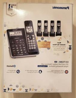 Panasonic KX-TG985   DECT 6.0 Bluetooth 5-handset Phone Bund