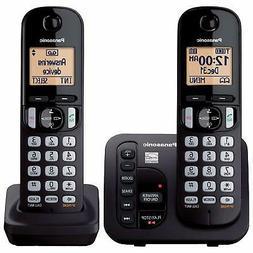 Panasonic KX-TGC222B DECT 6.0 Cordless Phone System