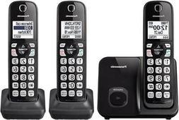 kx tgd513b expandable cordless phone