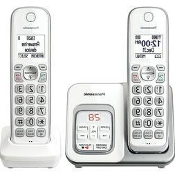 Panasonic KXTGD532W Expandable Cordless Phone w/ Call Block