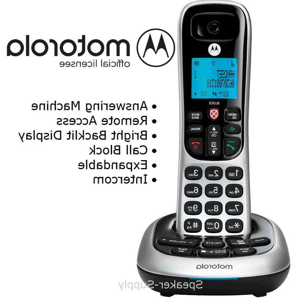Motorola 3 Phone Answering