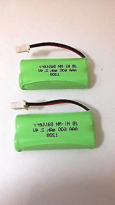 4 Rechargeable Battery AAA 600mAh 2.4V Pager/Cordless Phone