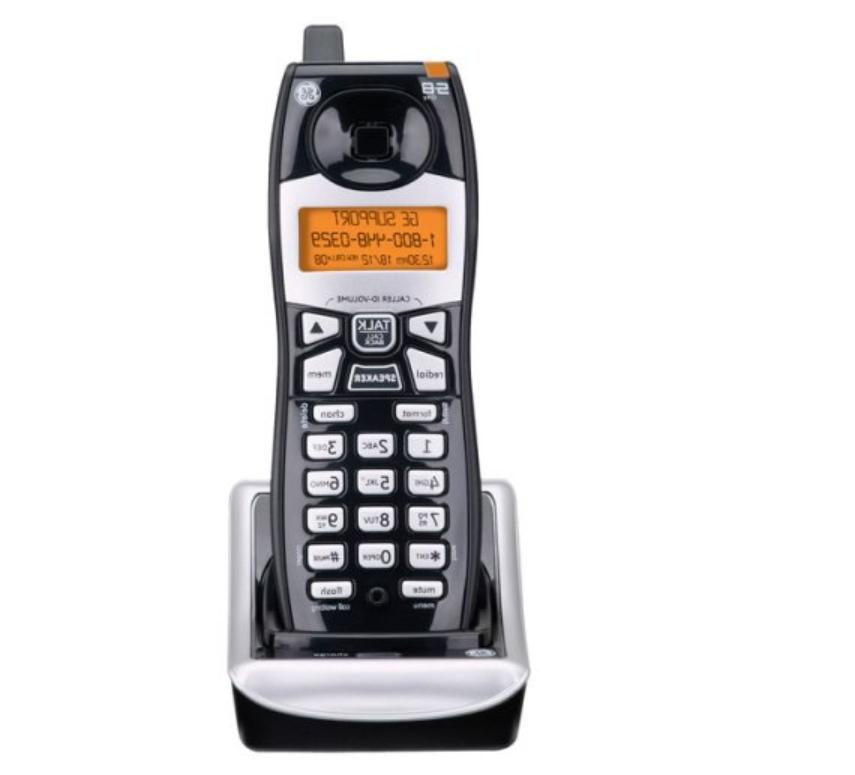 cordless 5 8ghz ed handset and cradle