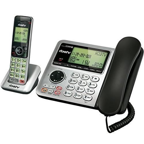 VTech CS6649 Phone System with System-Caller Waiting Handset/Base