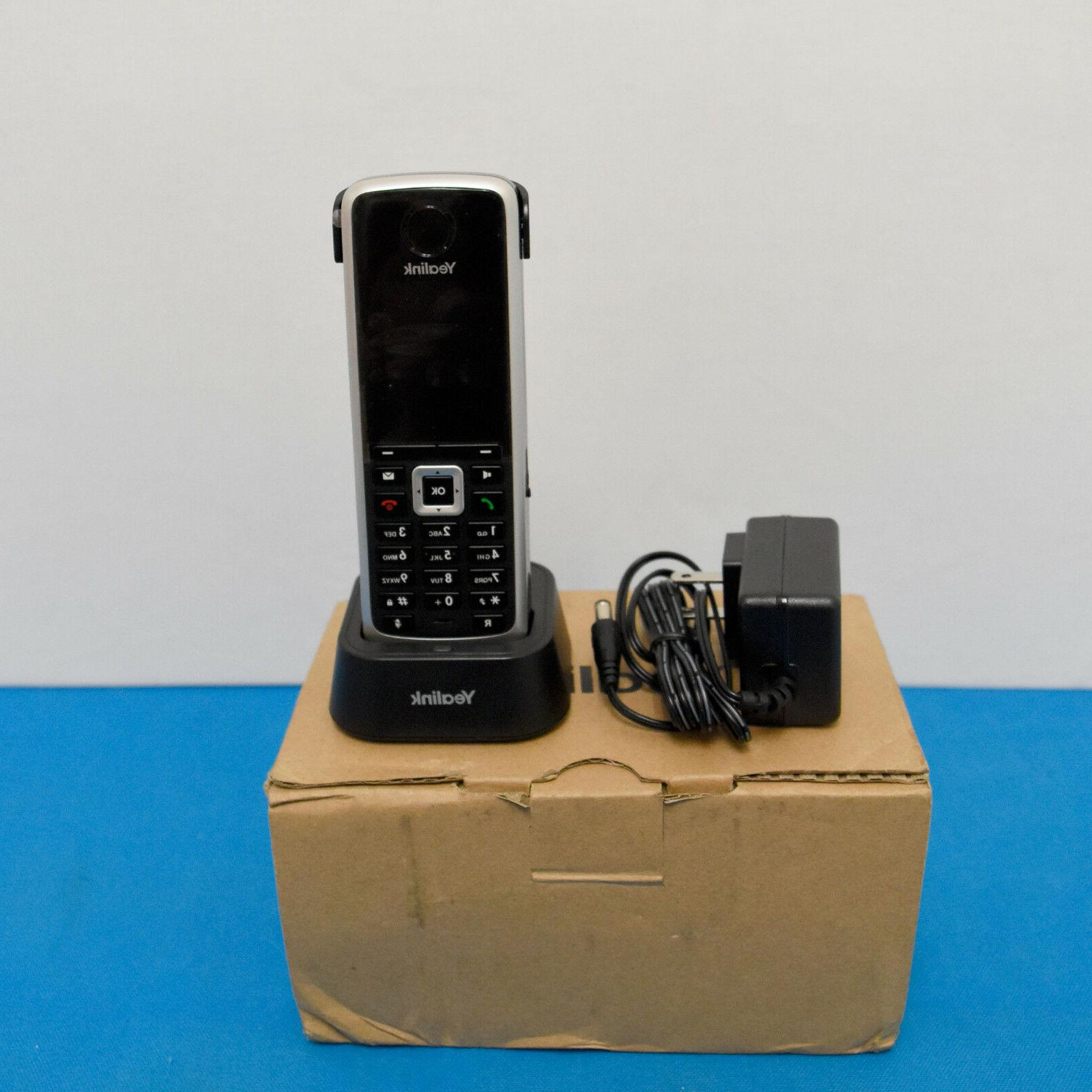 dect cordless handset w base and charger