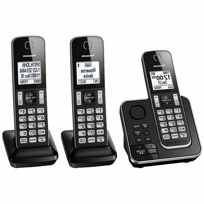 Panasonic Handset Telephone Answering