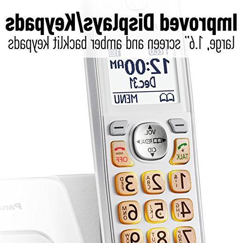 Panasonic KX-TGD532W Phone Block and Answering 2