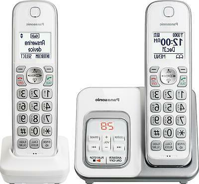 kx tgd532w expandable cordless phone