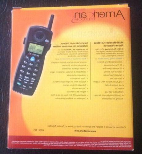 New American Phone With Station 2.4GHz UA20224B