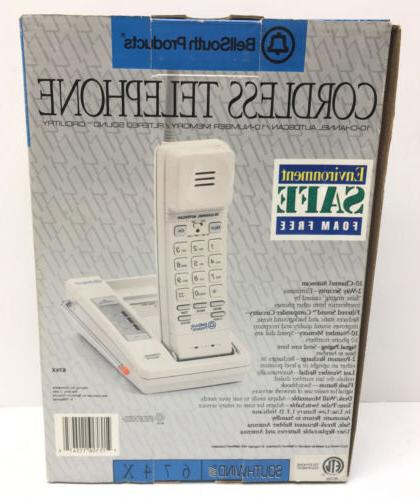 NEW BOX BellSouth Products Cordless Telephone Vintage