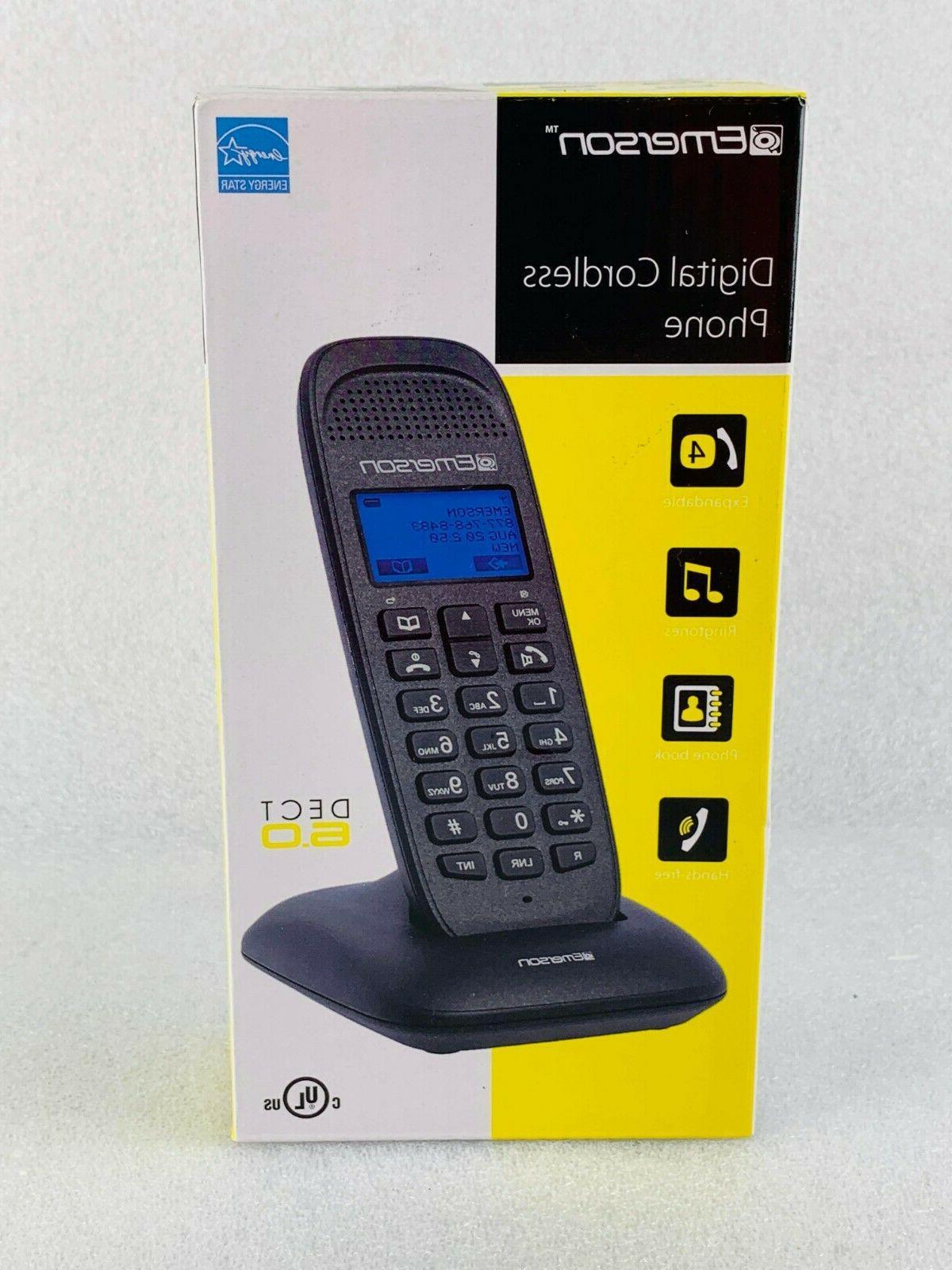 set of 2 digital cordless phones dect