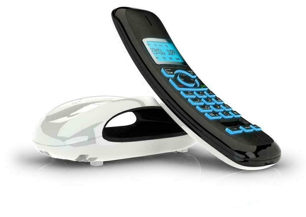 iDECT SOLO Cordless Home Phone Office Answering Machine 2Pack