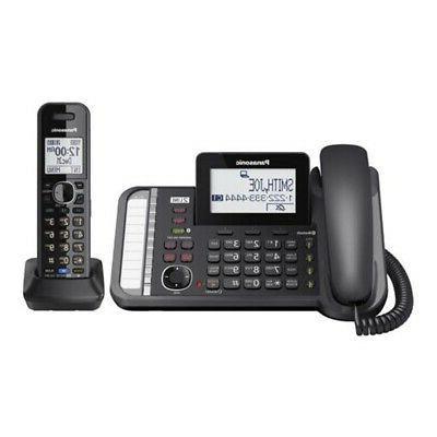 telecom kx tg9581b link2cell 1handset 2line corded
