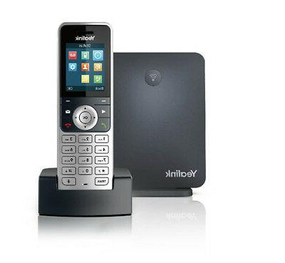 w53p wireless cordless dect handset and ip