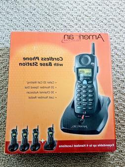 New American Telecom UA2020EB 2.4 GHz Single Line Cordless P