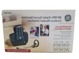 GE Phone 900 MHz Digital Spread Spectrum Cordless Headset Te