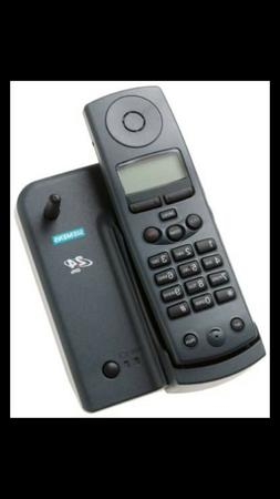 Siemens 2410 Gigaset 2.4 GHz Gray Cordless Phone System with