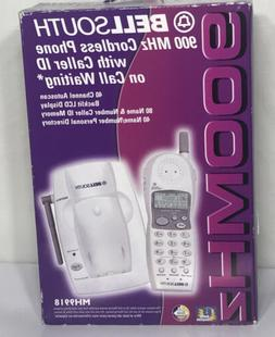 Bell Soth 900 Mhz Cordless Phone w/ Caller ID On Call Waitin