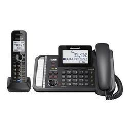 Panasonic-Telecom Kx-Tg9581B Link2Cell 1Handset 2Line Corded