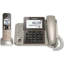 Panasonic-Telecom Kx-Tgf350N Corded/Cordless Phone Answering