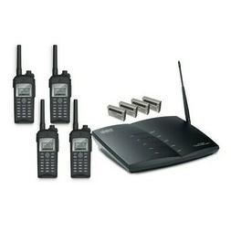 EnGenius UHF-PIA DuraFon Black Radio/Cordless Phone Pro Base