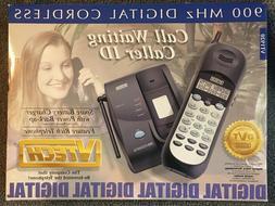Vintage VTech Cordless Phone●Black●#VT1920●Many Featur