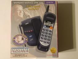 Vintage VTech Cordless Phone●Black●#VT9112●Basic Featu