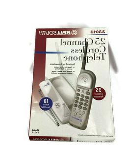 Vintage BellSouth Cordless Telephone 25-Channel  Model 33013