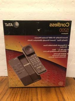 Vintage Genuine AT&T 5200 Cordless Home Telephone ATT Landli