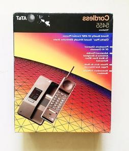 Vintage Genuine AT&T 5455 Cordless Home Telephone ATT Landli