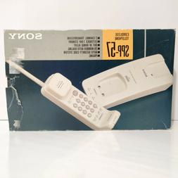 Vintage Sony SPP-57 2-Channel Cordless Telephone Brand New i